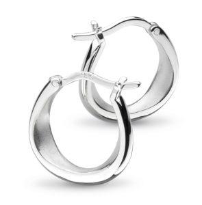 castle-rocks-and-jewelry-kit-heath-coast-shore-small-sandblast-hoop-earrings-60052SB022