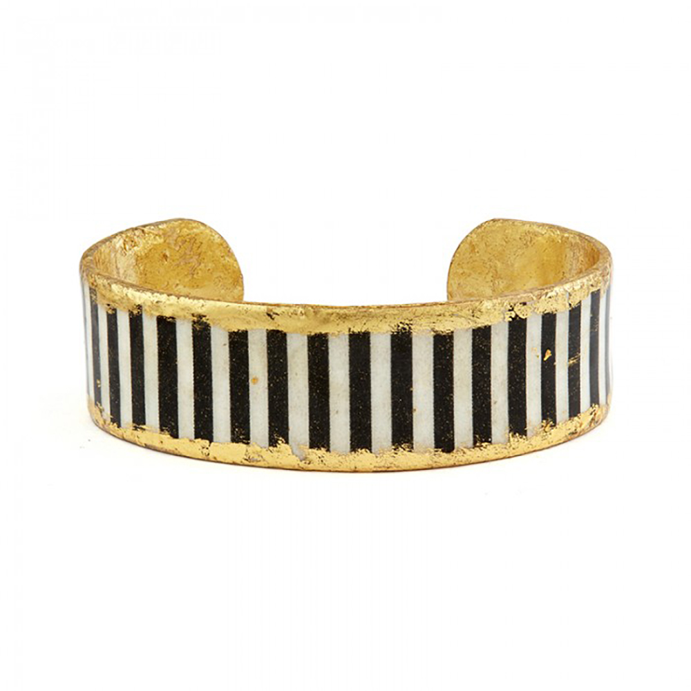 castle-rocks-and-jewelry-BW-111-black-and-white-stripe-cuff-skinny-evocateur