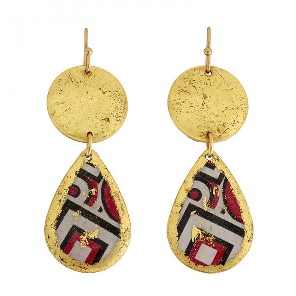 castle-rocks-and-jewelry-BW-419-op-art-mini-disc-earrings-RS-evocateur
