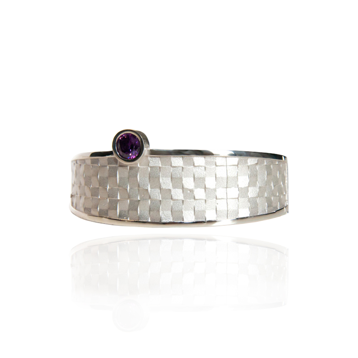 castle-rocks-and-jewelry-audar-weave-bracelet-with-stone-silver-E-1878