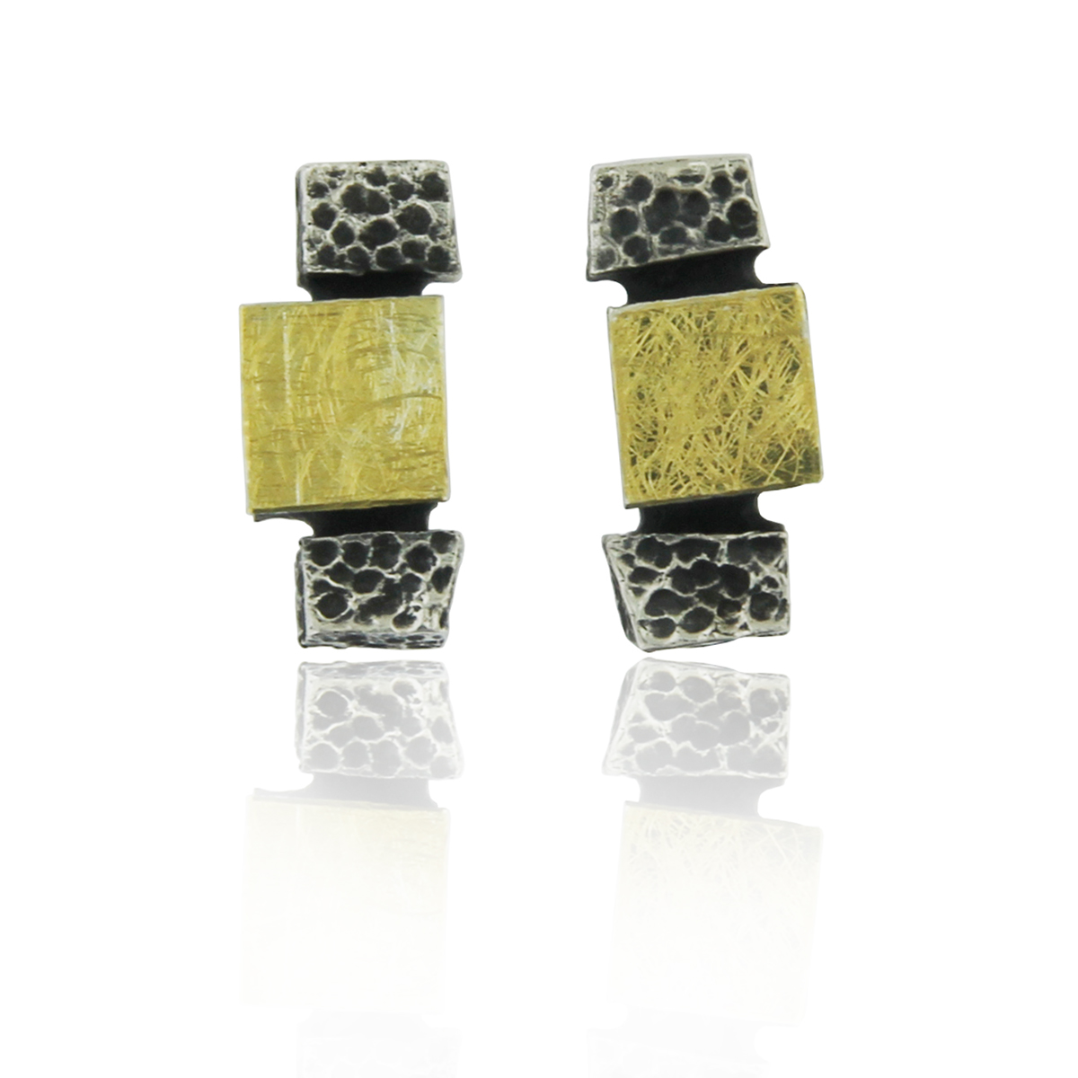 castle-rocks-and-jewelry-silver-and-gold-earrings-audar