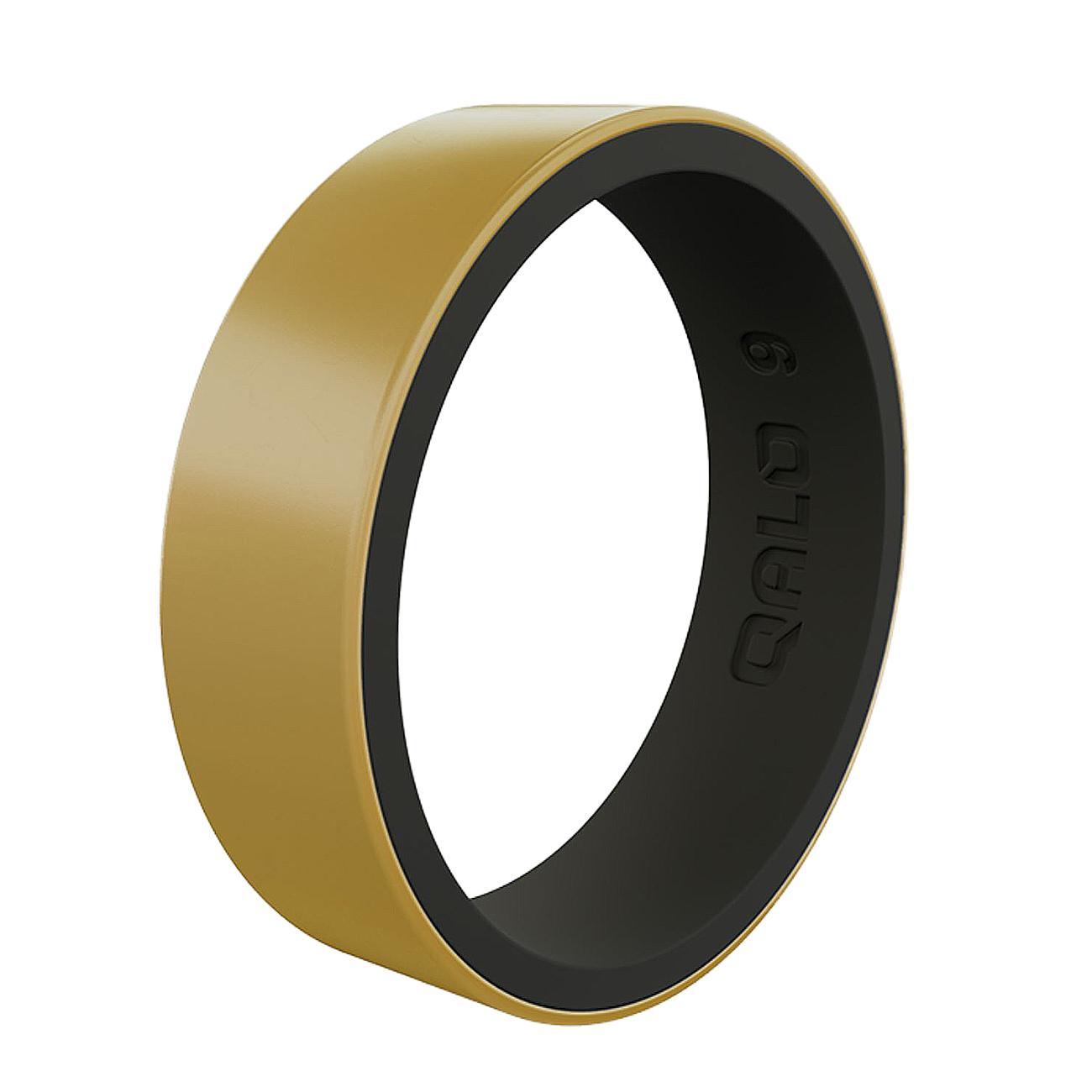 CRJ-180503-qualorings-_0005_womens-strata-metallic-gold-and-black-silicone-ring