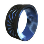 CRJ-180503-qualorings-_0031_mens-strata-black-and-arctic-camo-sunrise-silicone-ring